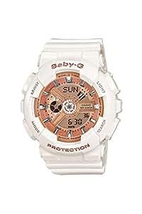[カシオ] 腕時計 ベビージー BA-110-7A1JF ホワイト