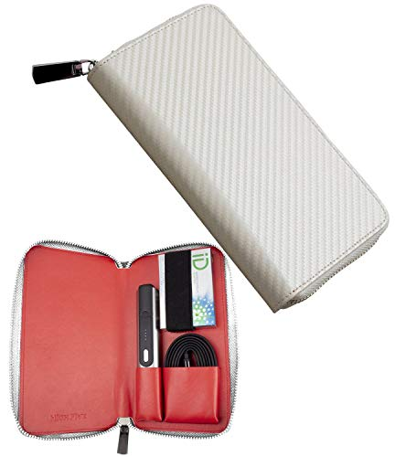 HIGH FIVE パルズケース PULZE ケース カバー カーボンレザー 財布型 革 カード入れ 電子たばこ iD アイデ...