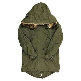 (アビレックス) AVIREX アヴィレックス M-65 フィールド モッズ パーカ コート ジャケット モッズコート ファー付 メンズ XL 73_Sage 6162165