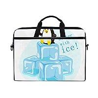 パソコンケース 15インチ 収納バッグ ペンギン アイス 耐衝撃 軽量 防水 多機能 出張 旅行 通勤 通学 守る スリム インナーバッグ パソコンケース