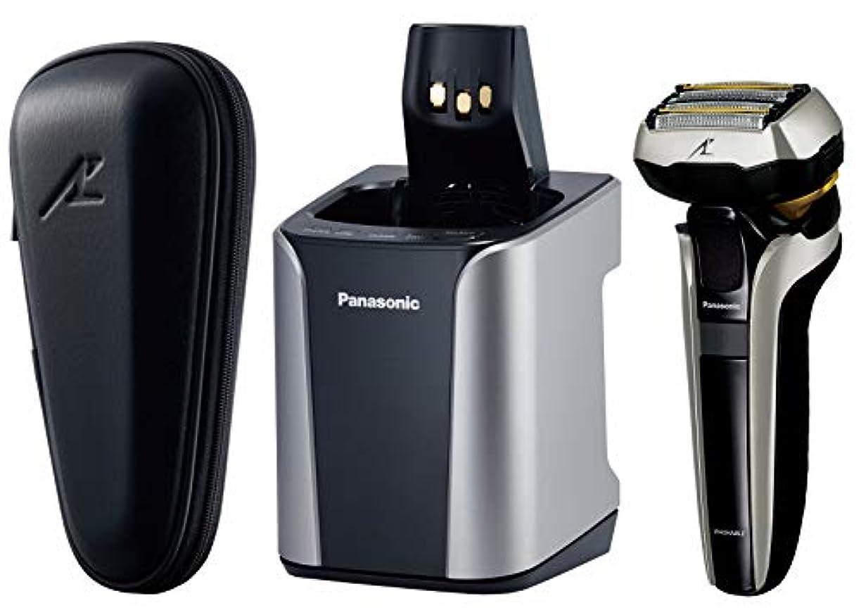 スマート全員六月パナソニック ラムダッシュ メンズシェーバー 5枚刃 シルバー調 ES-LV9DX-S