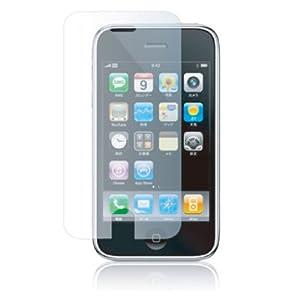 SoftBank iPhone 3G用 自己修復 液晶保護フィルム タッチパネル対応 ケイタイモッパー付き クリア RX-IPKBPHO