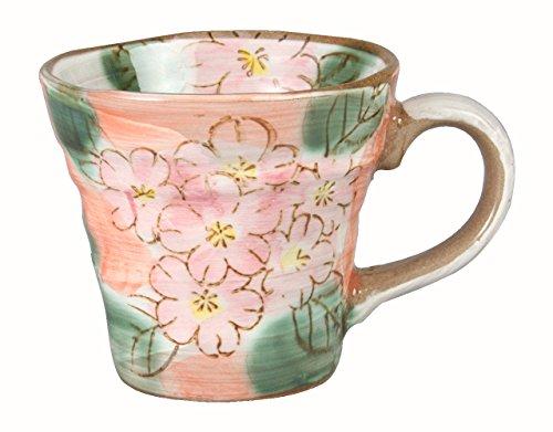 みのる陶器 手描きマグ さくら PK