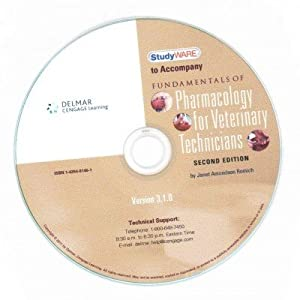 Fundamentals of Pharmacology for Veterinary Technicians Studyware