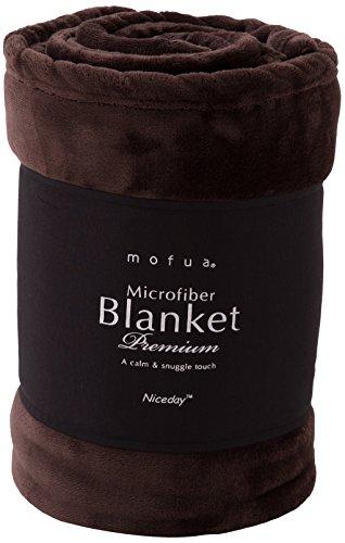 mofua (モフア) 毛布 プレミアムマイクロファイバー ...