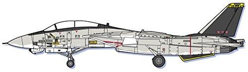 ハセガワ クリエーターワークスシリーズ エリア88 F-14A トムキャット ミッキー・サイモン 1/72スケール プラモデル 64755