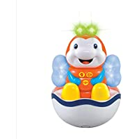 wanrane Cute Kids Roly - Poly ToyスモールサイズPear Wavyストライプマルチカラー漫画人形タンブラーボール枕(ドリーミー)
