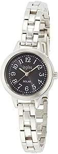 [アンジェーヌ]ingene 腕時計 ソーラー カーブハードレックス 日常生活用防水 AHJD080 レディース