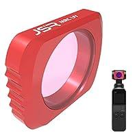 TIODIO DJI OSMO POCKET レンズフィルター UV フィルター レンズ保護 99%透過率 多層加工 薄枠 撥水 防汚 紫外線吸収 DJI OSMO POCKET対応
