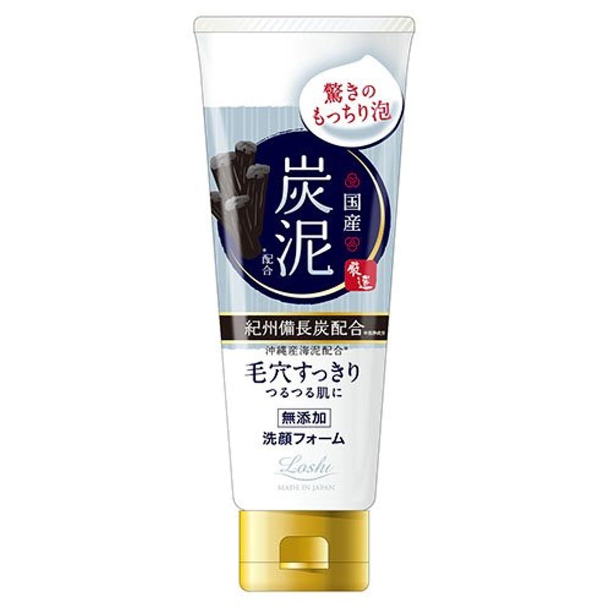 世界記録のギネスブック持続的メーターロッシモイストエイド 国産 ホイップ洗顔 炭泥 120g