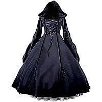 Smiling Angel 巫女 レディースコスプレ 赤 黒の2カラー 衣装 ゴシックロリータドレス魔女衣装