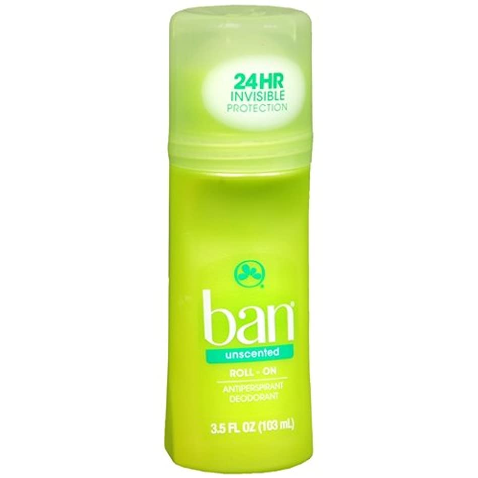 織るかもしれないどれか海外直送品 【2個セット】Ban Roll-On Unscented Antiperspirant & Deodorant - 3.5 fl oz (103 ml) 無香タイプ
