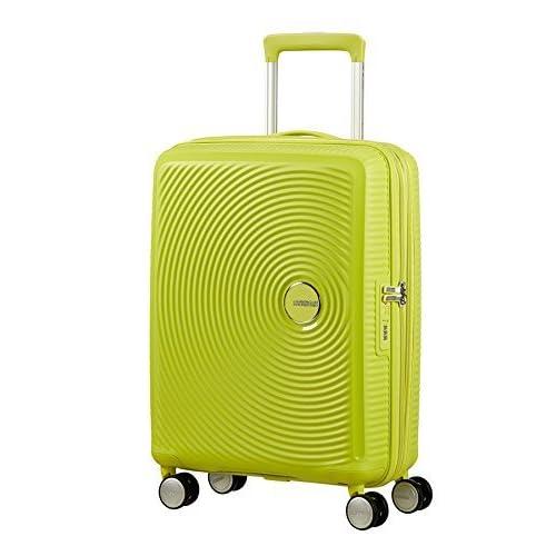 [アメリカンツーリスター] スーツケース SOUND BOX  サウンドボックス スピナー55cm 機内持込可 エキスパンダブル機能 機内持込可 保証付 35L 55cm 2.6kg 32G*74001 74 トロピカルライム