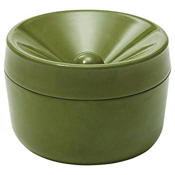 イデアコ 灰皿 アシュトレーウス カーキ