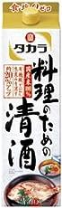 タカラ「料理のための清酒」1.8L紙パック