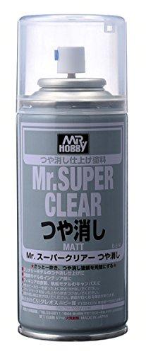 Mr.スーパークリアー スプレー つや消し B514