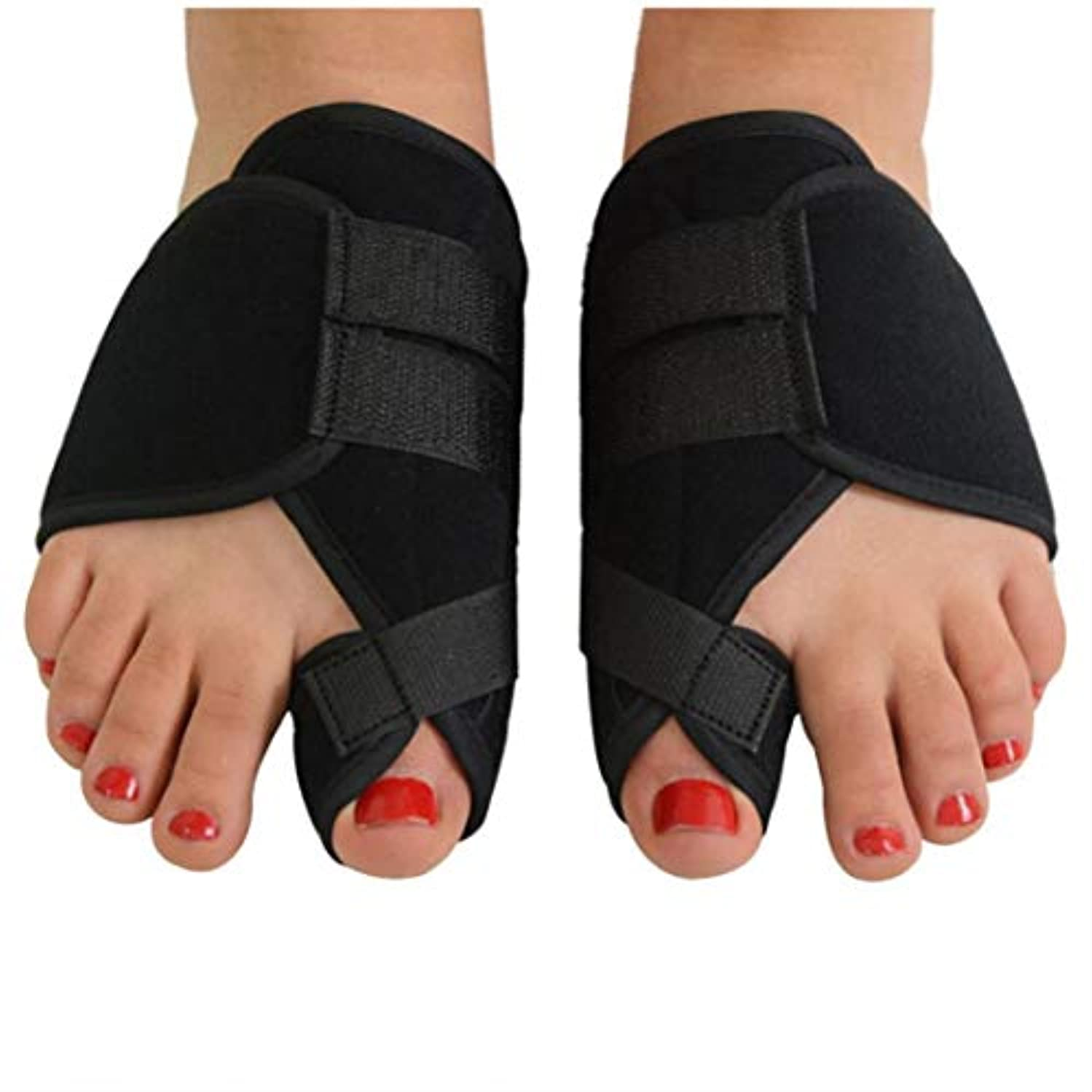 毎月カーフ制限バニオンコレクターおよびバニオンリリーフ整形外科用ビッグトゥストレートナーは、外反母趾を治療し、予防する(ワンサイズ)