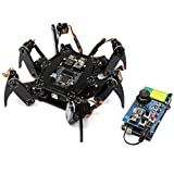 Freenove Hexapod Robot Kit with Remote Control, Compatible with Arduino IDE Raspberry Pi Processing, Spider Walking Crawling STEAM STEM Project