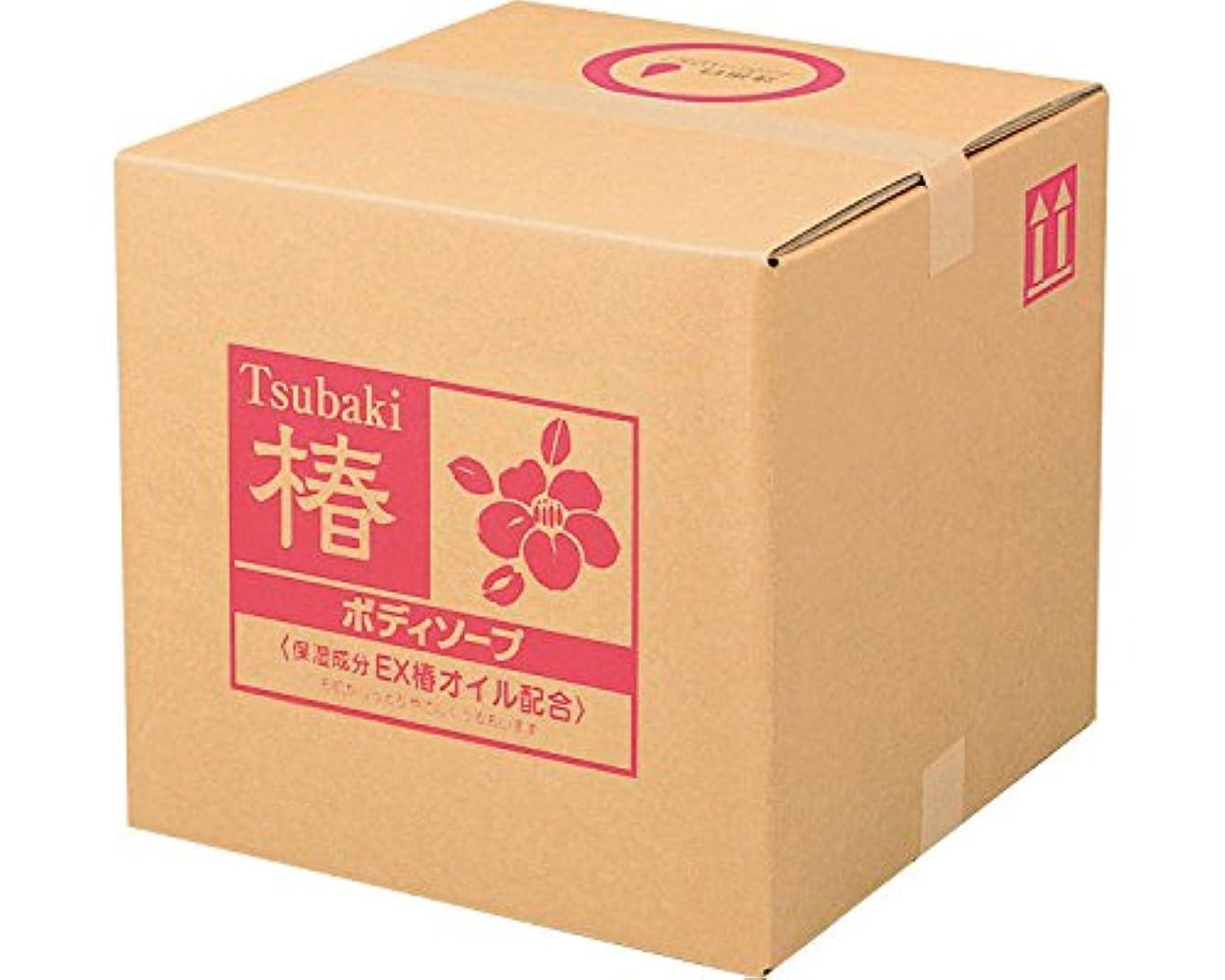 特殊ファブリックトレードSCRITT(スクリット) 椿 ボディソープ 18L 4222 (熊野油脂) (清拭小物)
