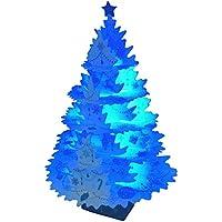 サンリオ クリスマスカード 洋風 ライト&メロディ ポップアップ 白ラメツリー S7307