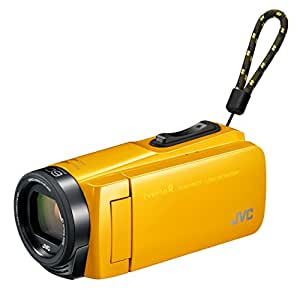 JVCKENWOOD JVC ビデオカメラ Everio R 防水 防塵 32GB マスタードイエロー GZ-R470-Y