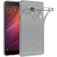 MaiJin Xiaomi Redmi Note 4 / Redmi Note 4X (5.5インチ) 透明 耐衝撃 スマホケース TPU クリア ソフト 背面保護カバー