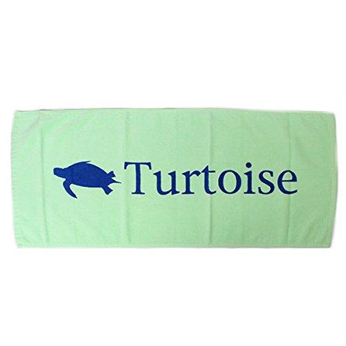 TURTOISE タータス フェイスタオル FACE - LIGHT GREEN 15SS