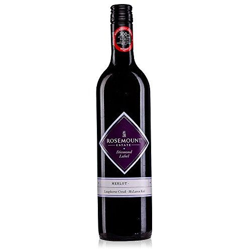 ローズマウント ダイヤモンドラベル メルロー 赤 750ml [オーストラリア/赤ワイン/辛口/ミディアムボディ/1本]