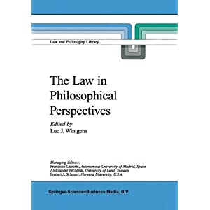 The Law in Philosophical Perspectives: My Philosophy of Law (Law and Philosophy Library)