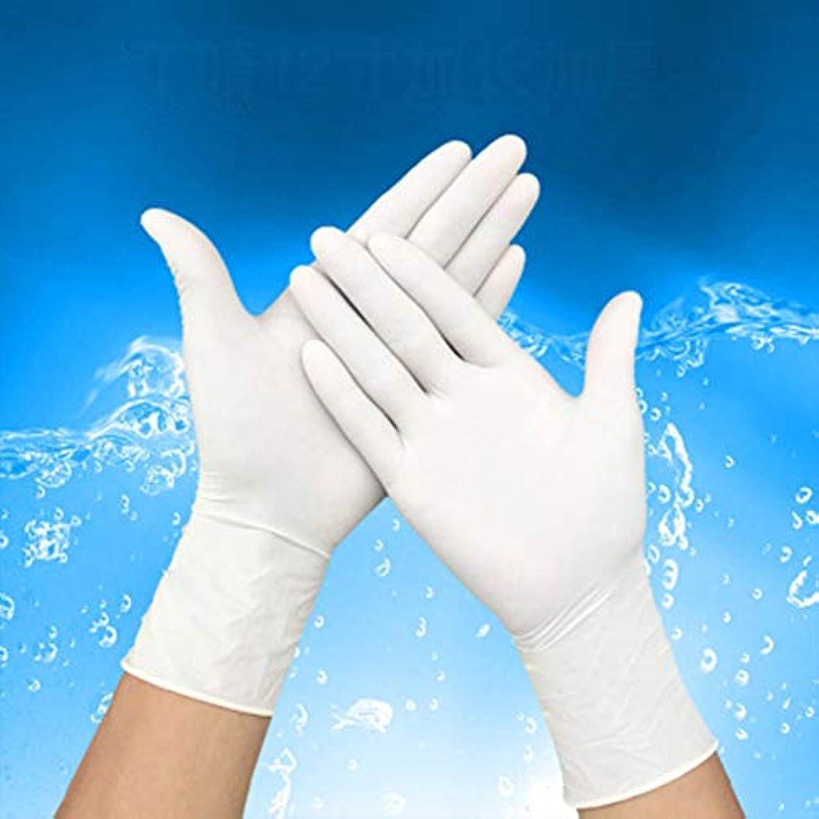 軍手 ミドリ安全 手袋 薄手タイプ 粉なし ホワイト 食品産業用品 極薄 滑り止め 使い捨て l (100枚入)