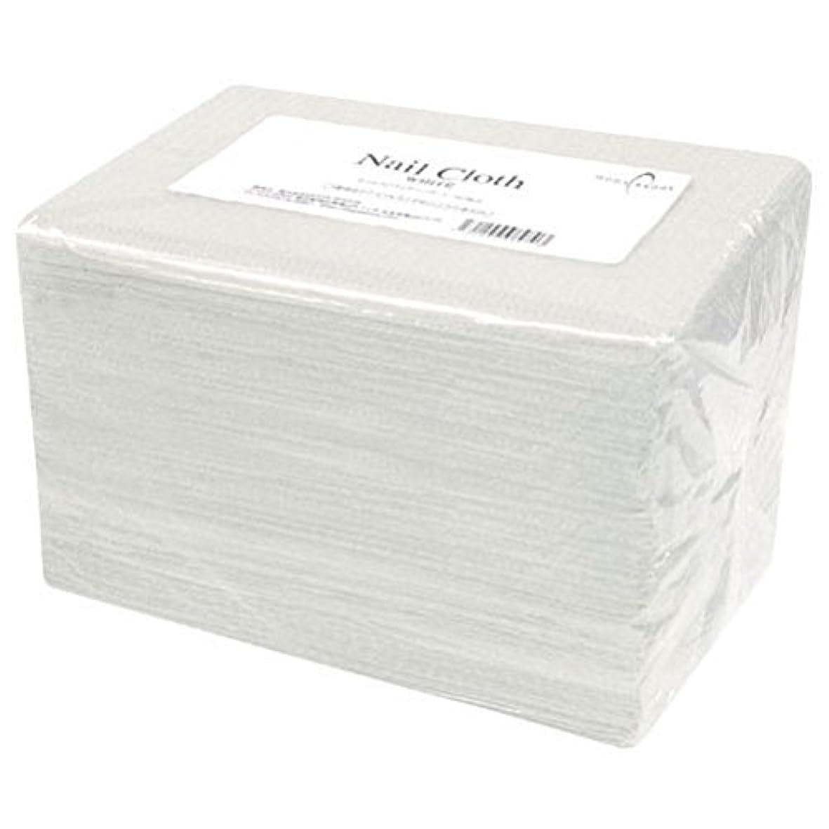 吸収するエコー重要性ネイルクロス50ホワイト