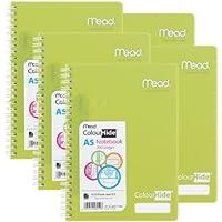 カラーハイド ノート A5 ライム 5冊パック Mead MNB1717699L-5P