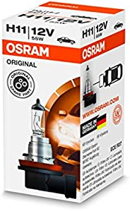 OSRAM 64211 ORIGINAL H11, halogen headlamp, 64211, 12 V passenger car, folding carton box (1 unit)