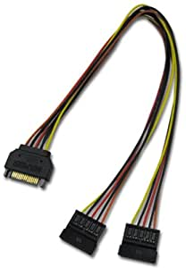 アイネックス シリアルATA用二股電源ケーブル S2-1505SA