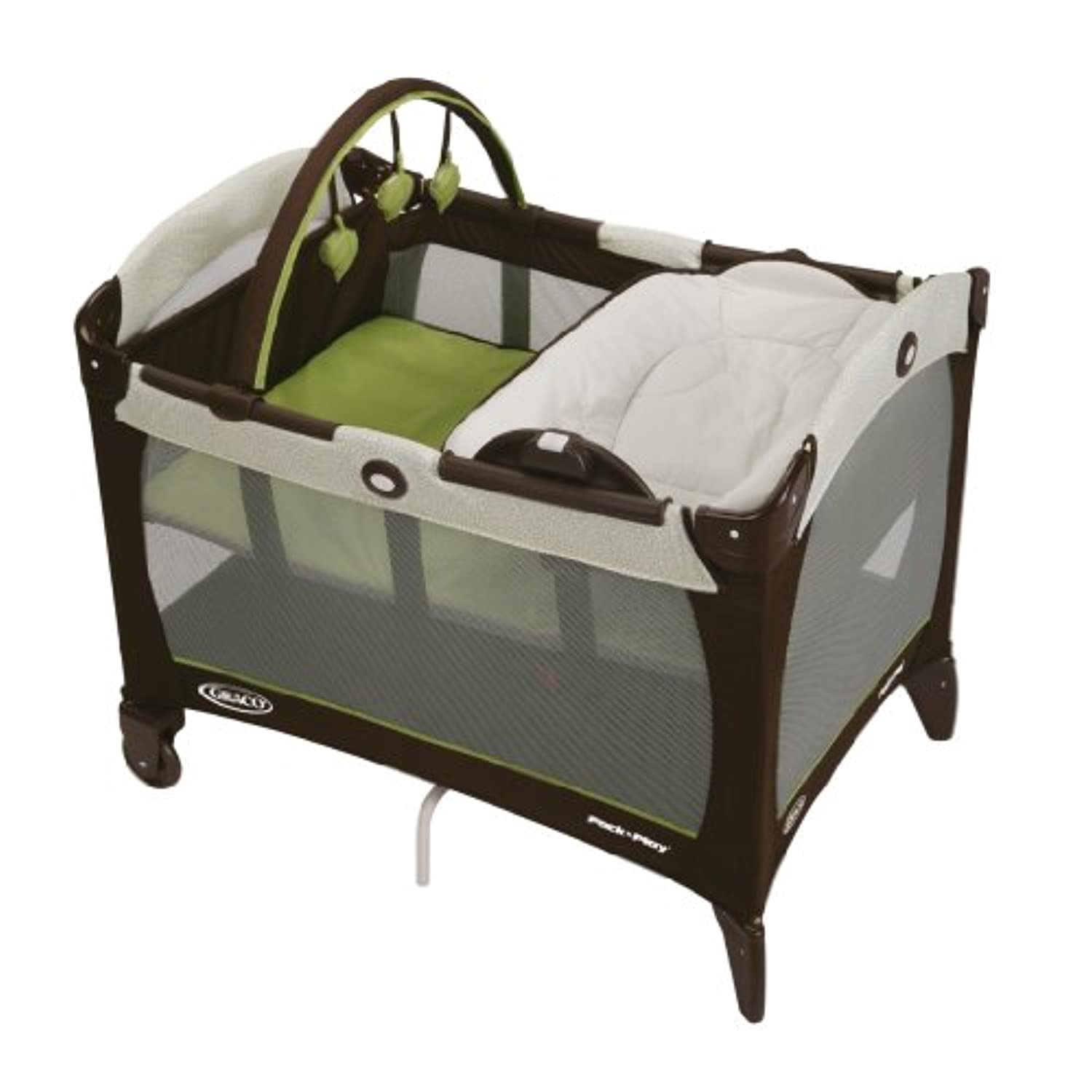 Graco Pack 'n Play Playard with Reversible Napper and Changer, Go Green by Graco [並行輸入品]