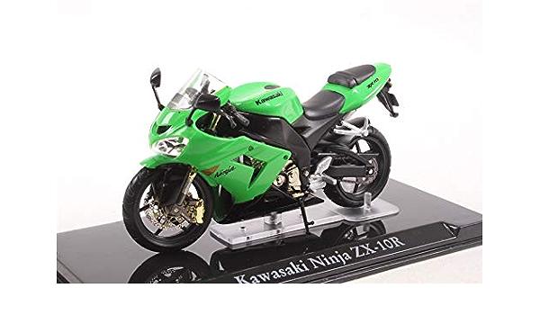 **Kawasaki NINJA ZX-10R**Atlas Collection*neu*Maßstab 1:24*Standmodell**