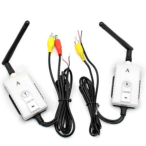 OBEST 2.4Gワイヤレスキット ワイヤレストランスミッ...