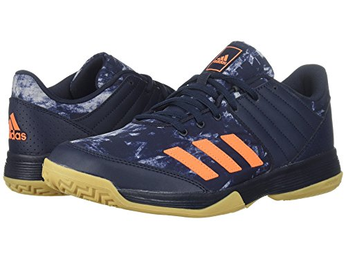 (アディダス) adidas メンズバレーボールシューズ・靴 Ligra 5 Legend Ink/Hi-Res Orange/Grey Two 14 (32cm) D - Medium