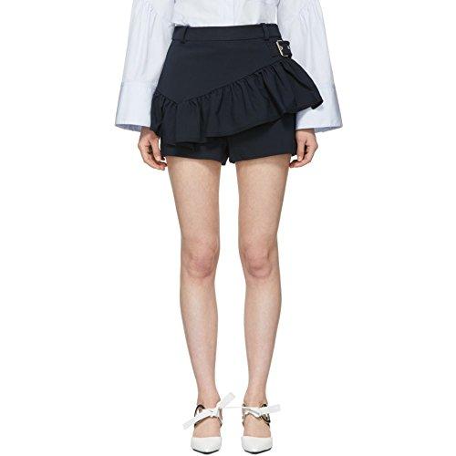 (スリーワン フィリップ リム) 3.1 Phillip Lim レディース ボトムス・パンツ ショートパンツ Black Ruffle Apron Shorts [並行輸入品]