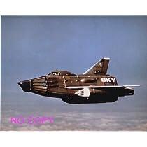 大きな写真、TV「謎の円盤UFO」飛行中のスカイワン