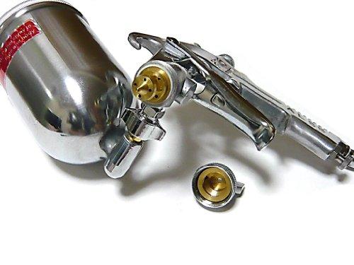 1.5mm口径 塗装作業に! スプレーガン 重力式 400cc