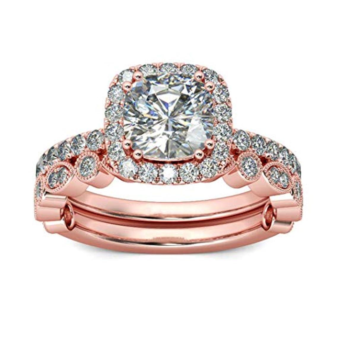 リベラル復活する報奨金Sperrinsペアリング 結婚指輪 婚約指輪 銀メッキ指輪 カップル リング レディースリング メンズリング(8)