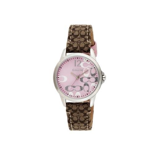 (コーチ)COACH 腕時計 レディース COACH 14501621 クラシックNEW CLASSIC SIGNATURE ニュークラシックシグネチャー 時計/ウォッチ ピンク[並行輸入品]