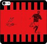 iPhone/Xperia/Galaxy/他機種選択可:サッカー/グラフィティ手帳ケース(デザイン:ミラノ/10番_01) 08 iPhone8Plus