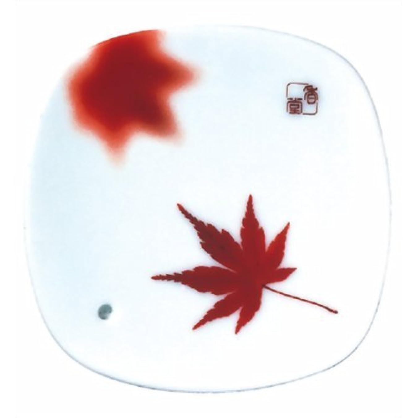 ダイバー海岸勉強する夢の夢 秋錦(紅葉) 香皿