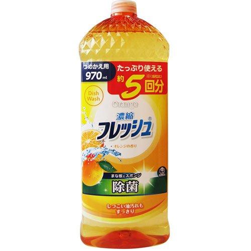 KC キッチンクラブ 濃縮フレッシュ 除菌オレンジ 詰替用 ...