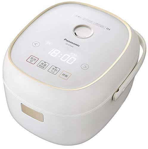 パナソニック 炊飯器 3.5合 IH式 ホワイト SR-KT068-W