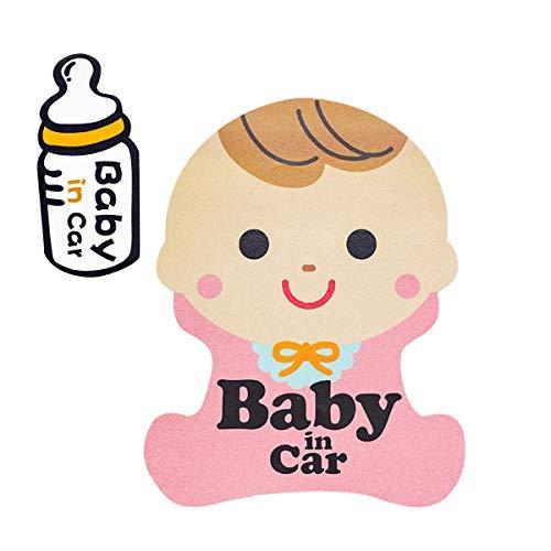 BABY IN CAR カーステッカー ...