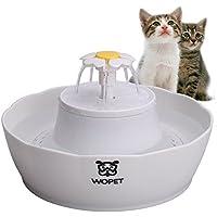 WOpetペット給水器 自動給水器 フィルター循環式ペット用自動給水器 超小型犬~中型犬や猫ちゃんの多頭飼いに!循環式 犬・猫用の自動給水器 容量2.5L (自動給水器)