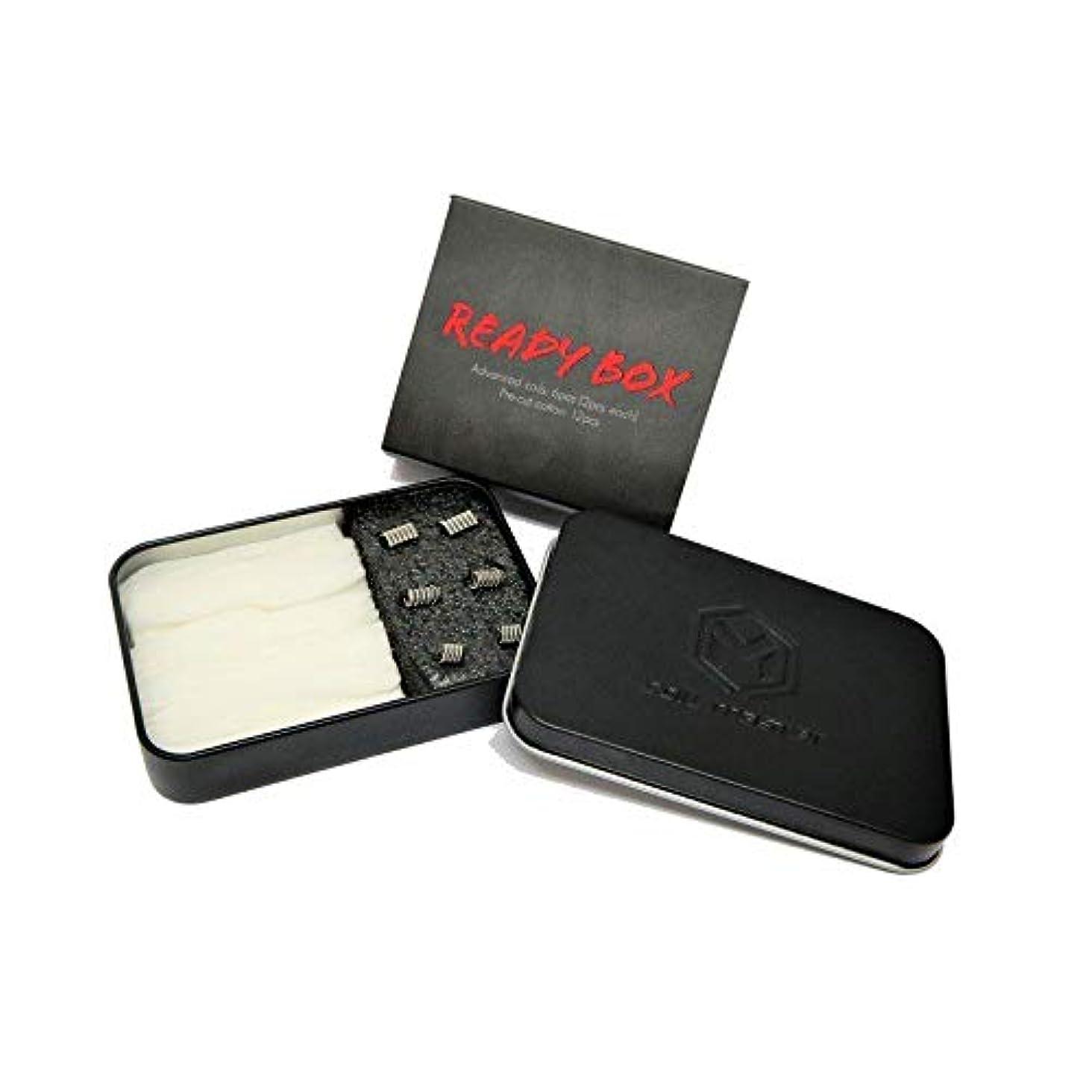 好奇心盛くしゃくしゃ勃起コイルマスター 正規品 Coil Master Ready Box 電子たばこ ビルドツール